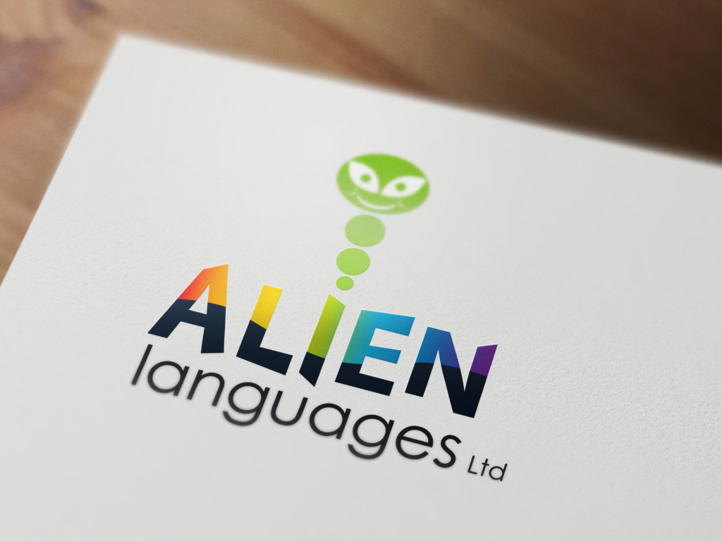 Alien Languages Identity design
