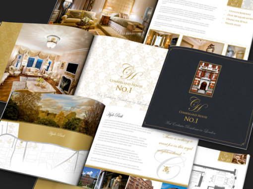 Cumberland House Brochure design