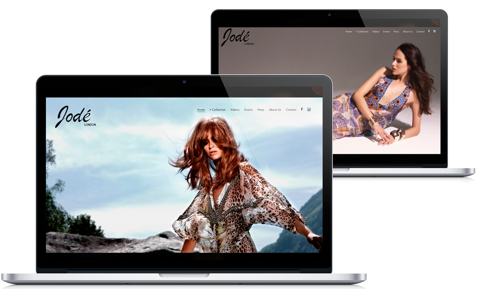 Jode London Web design
