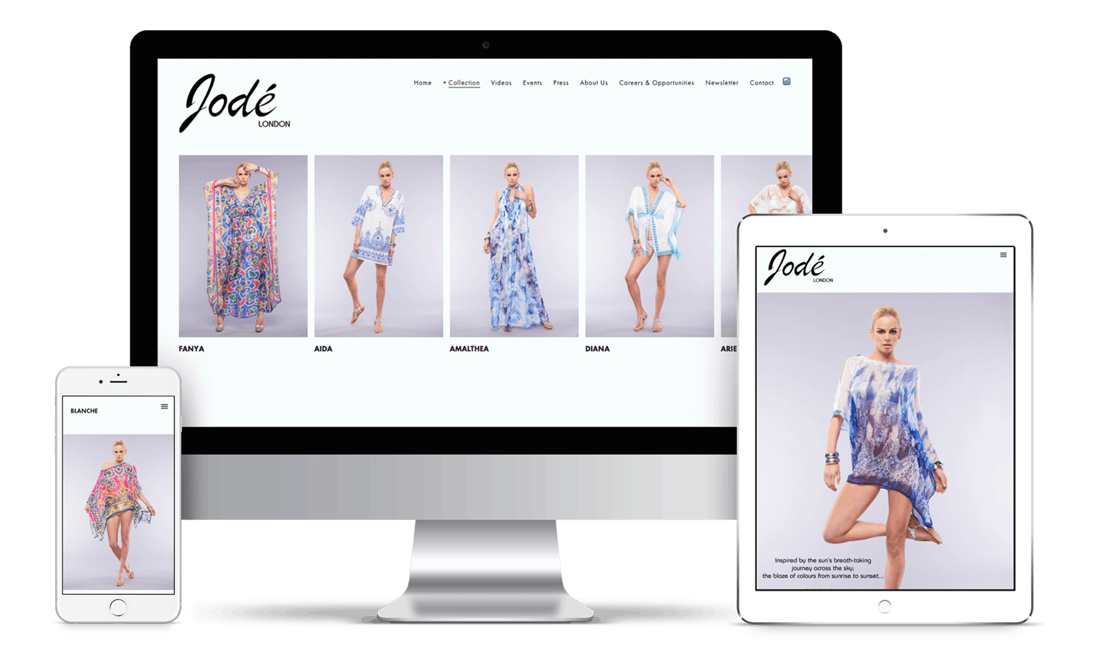 Jode London website design